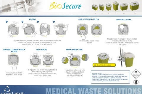USER INSTRUCTIONS - BIOSECURE